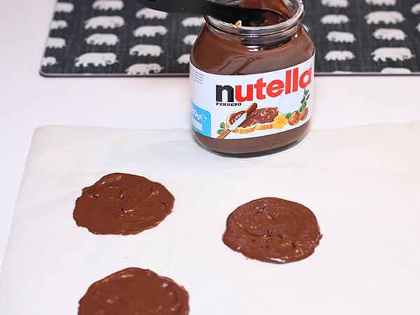 proteinpannkakor med nutella
