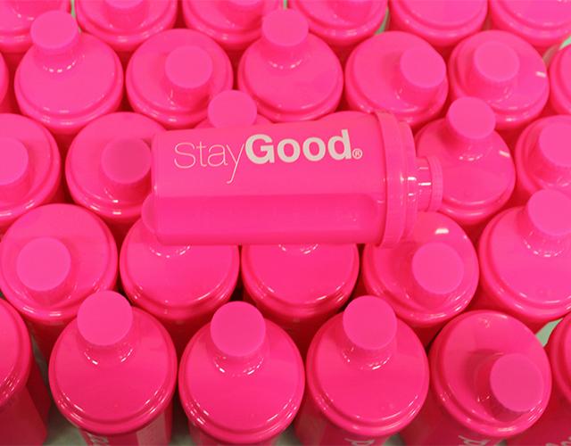 snygg rosa shaker