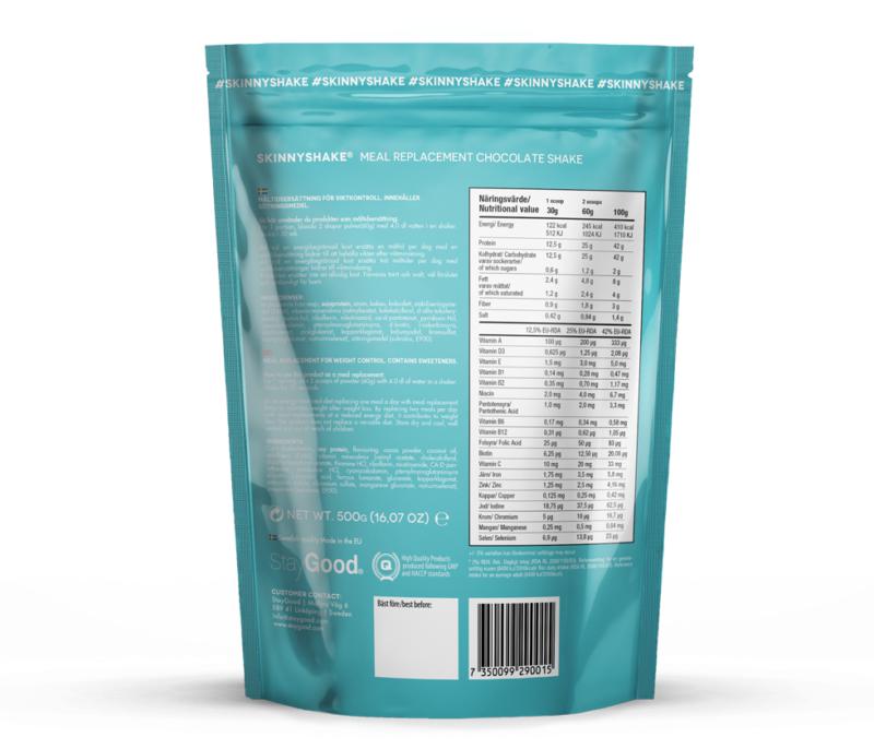 måltidsersättning glutenfri mjölkfri